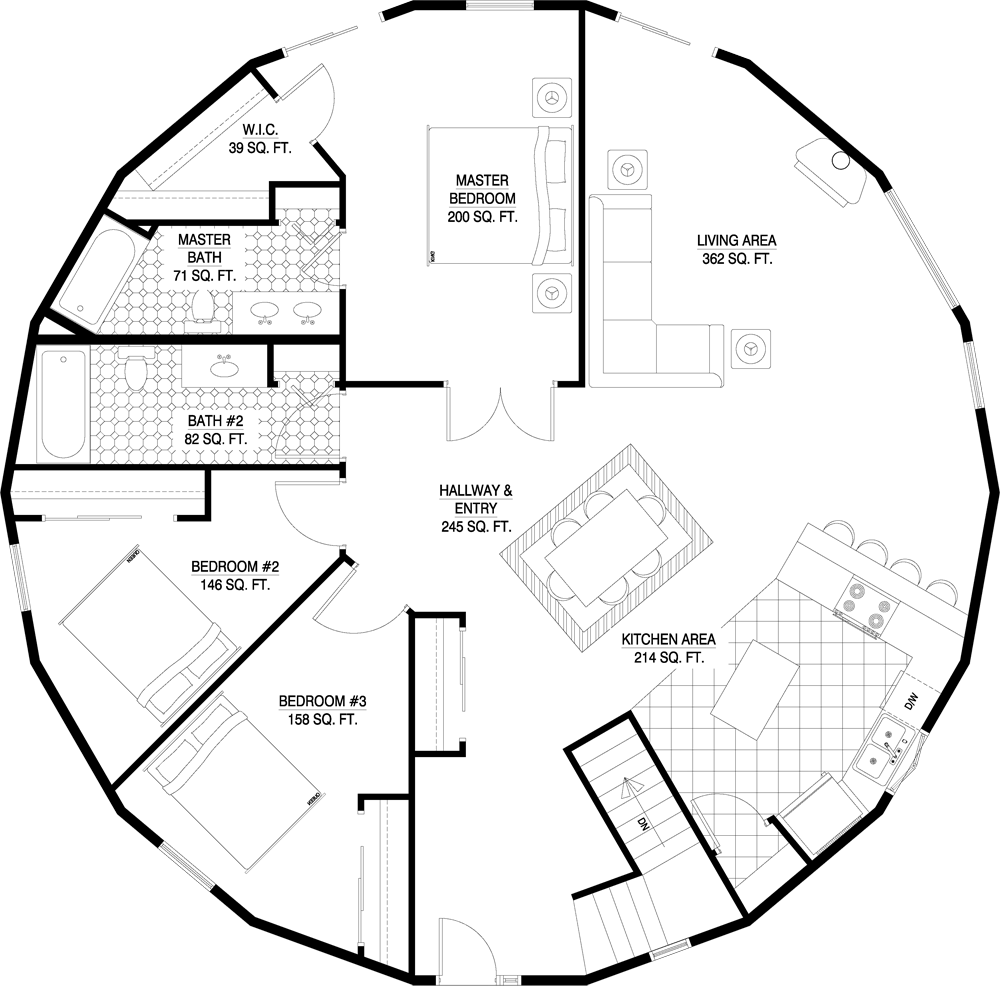 Round Homes Designs: Home Sweet Home Part II