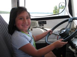 Now this is one cute Duck driver.