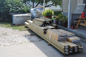 Wood for a new deck
