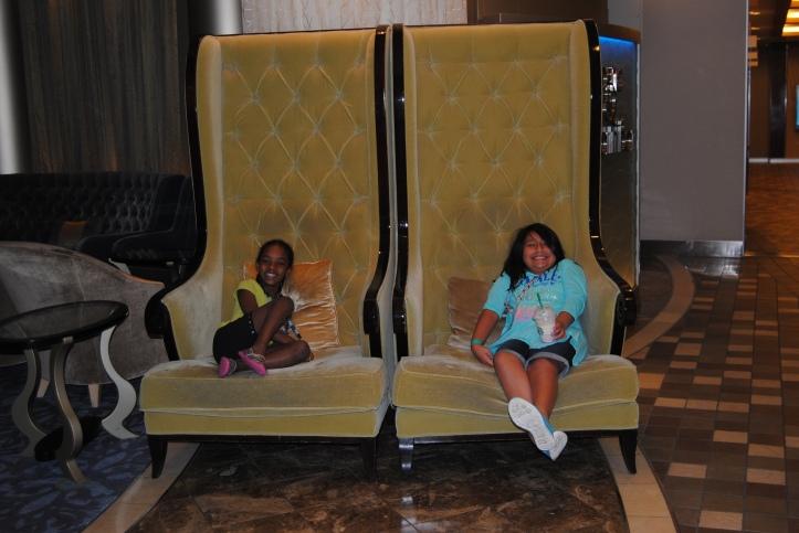 Perfect princess chairs.