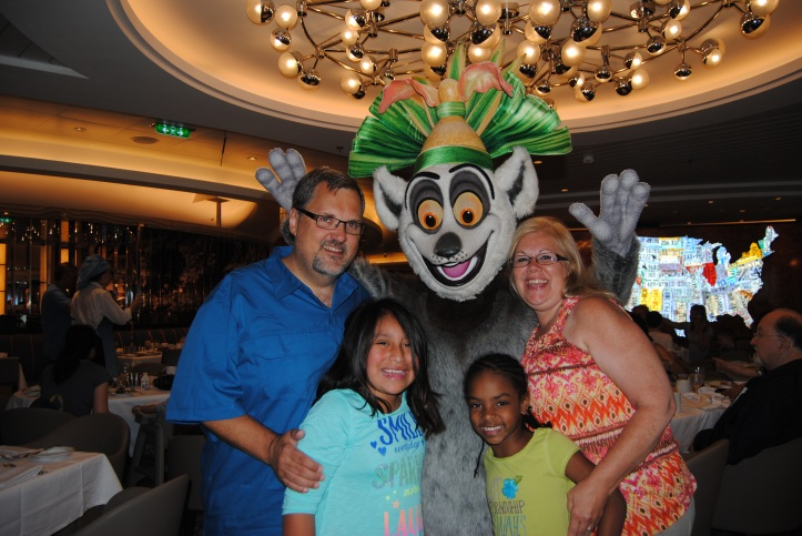 King Julian needed to get in on the action.