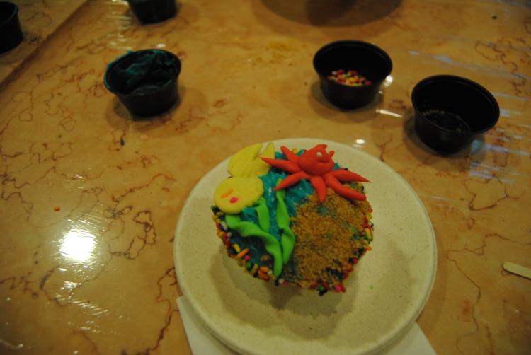 My cupcake creation.