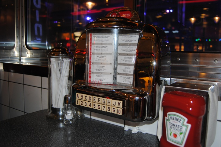 Tableside Junkboxes. So fun!
