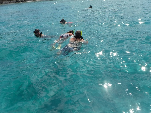 Snorkling at St. Thomas